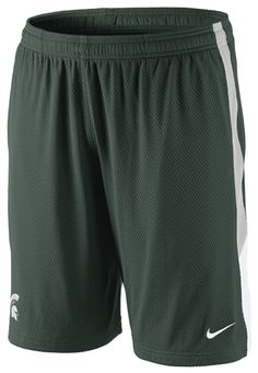 MSU Nike Mesh Shorts