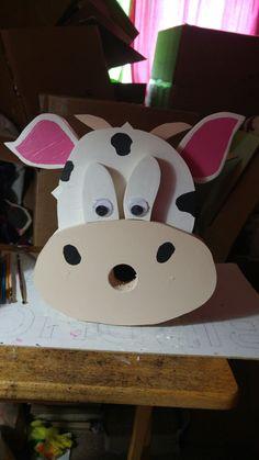 Cow birdhouse