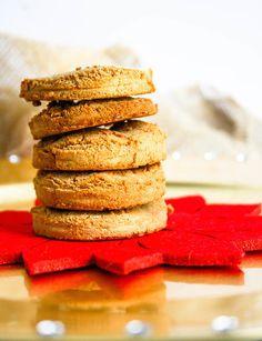 Paleo Orange Maple Holiday Cookies