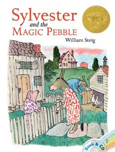 Sylvester and the Magic Pebble...I just found this book in our lend-a-library and was ecstatic. One of my favorites :)