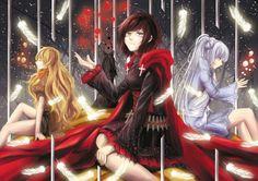 Rwby - Ruby, Blake, Yang, & Weiss