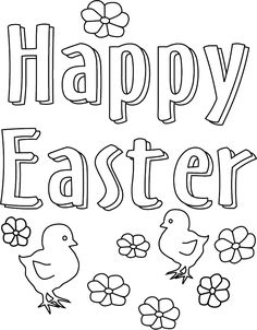 1448 Best Printables - Easter images in 2019 | Coloring book ...