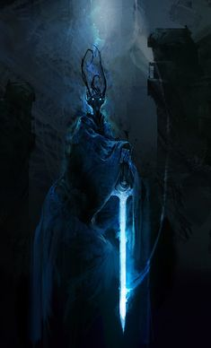 The Dark Lord Awakens, Aaron Nakahara on ArtStation at https://www.artstation.com/artwork/XPQAa