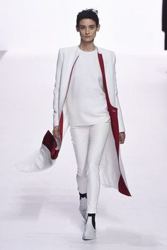 Haider Ackermann Spring 2018 Ready-to-Wear Fashion Show Collection Runway Fashion Outfits, Fashion Week, Work Fashion, Fashion Design, Paris Fashion, White Dress Outfit, Dress Outfits, Dresses, Style Couture
