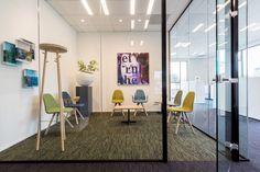 Prachtig nieuw kantoor Jan van Meulengraaf Notaris Klompenfabriek te Best in samenwerking met Hal 2 interieur. Complete inrichting - verbouwing door VB&A vastgoedinrichter