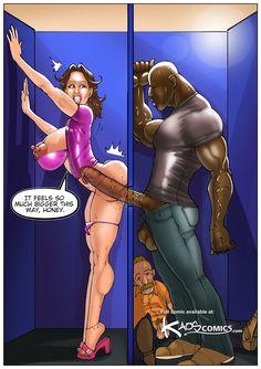 Hot Interracial Comics
