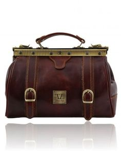 Doctor gladstone leather bag-Brown When I get my doctorate my gift to myself will be a gorgeous briefcase or satchel, perhaps like this :)