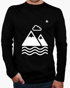 Camiseta Montañismo 01 Camiseta hombre manga larga  19,90 € - ¡Envío gratis a partir de 3 artículos!