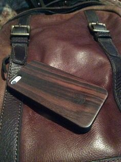 Leather & wood