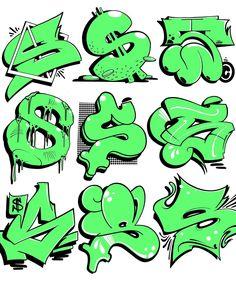 Saturday 🔫 Favorite S ? Graffiti Lettering Alphabet, Graffiti Words, Graffiti Pictures, Graffiti Writing, Tattoo Lettering Fonts, Graffiti Tagging, Graffiti Styles, Graffiti Artists, Graffiti Letter S