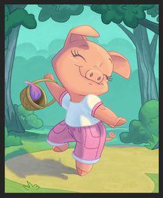 dancing_pig_by_chewgag-d65gnbc.jpg 1,605×1,952 pixels