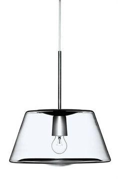 One Pendel Lamp [Holmegaard] Interior Lighting, Lighting Design, Lamp Light, Light Up, Furniture Decor, Furniture Design, Element Lighting, Led, Beautiful Lights