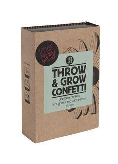 Throw & Grow confetti - Let love grow