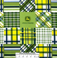 John Deere   Possibility for Crib Set