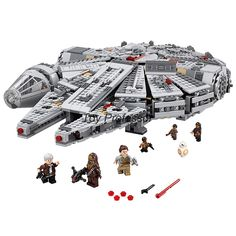 nice 2016 Lepin Star Wars Millennium Falcon Outer Space Space Ship Building Blocks Model Toys Christmas Gift for Children Legoed