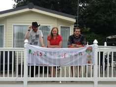 Our Banner for Critically Ill Ruth's Family