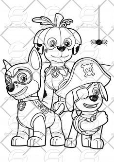 Mighty Pups Flying Skye Pour Enfants Dessin A Colorier ...