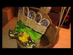 velikonoční slepička, pokračování misky s rantlíkem Picnic, Basket, Youtube, Hampers, Tutorials, Paper Envelopes, Baskets, Picnics, Picnic Foods