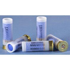 Box of 5 Lightfield® Home Defender 12 Gauge Rubber Slug Rounds