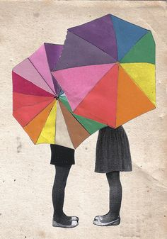 U is for Umbrella by JessicaGill_Illustrator, via Flickr