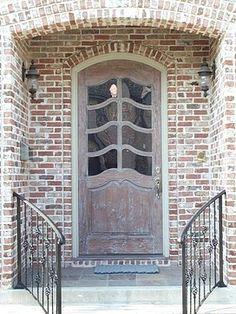 Custom Doors traditional front doors