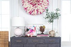 Society Social founder Roxy Te Owens shows you how to style a functional entryway credenza in eight easy steps.