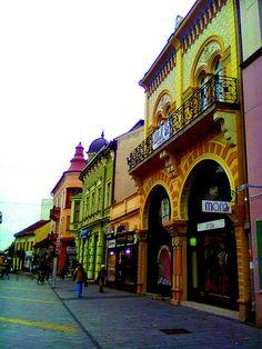 Colorful Buildings in Zrenjanin, Serbia