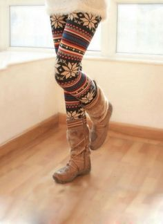 Fashionable Women's Winter Thicken Legging Pant on BuyTrends.com, only price $8.80
