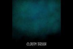 """Cloudy"" Procreate Brush by Designgirl on @creativemarket"