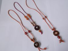 necklace with Nespresso capsules