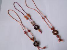 necklace with Nespresso capsules