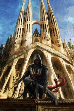 Assassin's Creed Movie Concept Art by Lixin Yin!