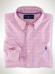 a86c6ed40 Classic-Fit Gingham Oxford - Polo Ralph Lauren Classic-Fit - RalphLauren.com