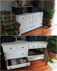 White Shelf Cabinet