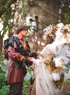 A fairy wedding spectacular--a bit over-the-top for me, but it's so beautiful