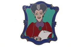 Disney Villains in Frames Series - Lady Tremaine Cinderella Pin