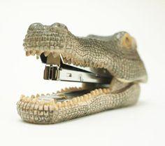 Crocodile Stapler.