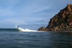 Buy the ticket, take the ride, don't look back...or do, when the landscape is this beautiful. Torrey Meister, Mexico. Photo: Chachi http://srfer.co/Torrey