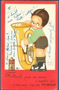 """Image detail for -... Shines Baritone Horn with """"Liquid Miror""""   signed Beatrice Mallot"""