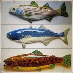 beautiful raku fishies t pfern. Black Bedroom Furniture Sets. Home Design Ideas