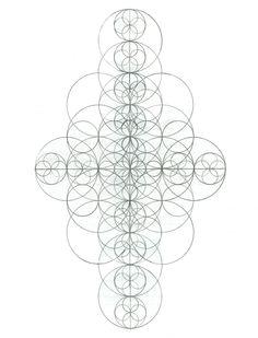 Sacred Geometry ~ Fractal Pencil Drawing ~ www.colorsoflights.com