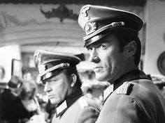 When he signed onto production for WHERE EAGLES DARE ('68), Clint Eastwood lobbied producers to do his own stunts. Producers, however, balked, and Eastwood took the sidelines to double Eddie Powell, who, among his many dangerous stunts for this film, had to hang off a moving cable car hundreds of feet in the air.  Richard Burton, presumably, happily sat out the peril and focused instead on reviving his box office stardom. WHERE EAGLES DARE ('68) did just that.