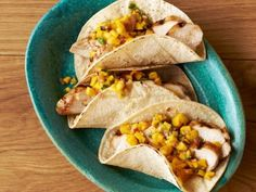 Try these taco ideas from Food Network Magazine at your next party.