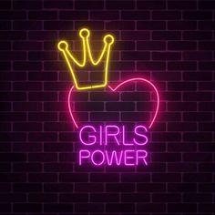 Neon Light Wallpaper, Power Wallpaper, Neon Wallpaper, Neon Light Signs, Led Neon Signs, Pink Neon Lights, Neon Girl, Neon Quotes, Custom Neon Signs