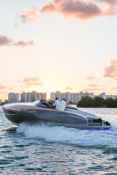 """""""This concept for a Lexus Sport Yacht allowed us to explore how Lexus design language could be applied to a maritime lifestyle,"""" said Yoshihiro Sawa, executive vice president of Lexus International, during the exclusive reveal at Di Lido Island on Biscayne Bay, Miami Beach, FL."""