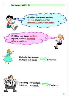 Greek Language, Grammar, Elementary Schools, Teacher, Greece, Life, Ideas, Greece Country, Professor