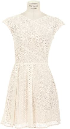 Lover Lace Flared Dress