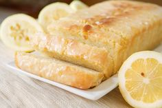Low-Fat Lemon Yogurt Cake by t.sullivan photography