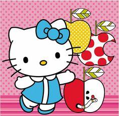 Hello Kitty / Apple has worms
