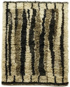 Anonymous; Wool Rya Rug, c1960.